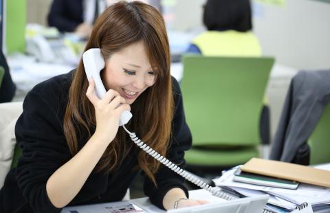 jalea business image Ricevere una telefonata